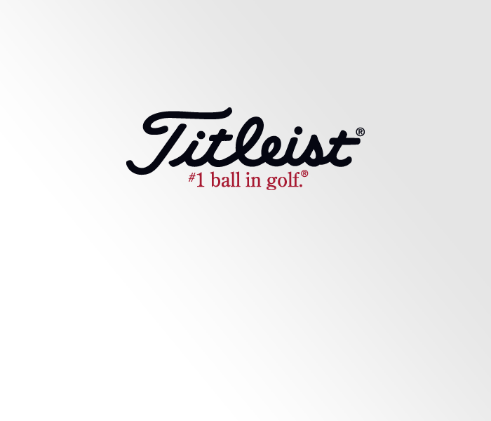 What font does the Titleist logo use?